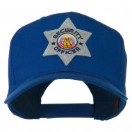 USA Security Officer Patched High Profile Cap - Royal