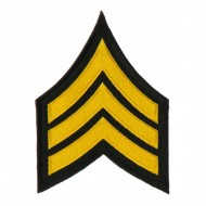 USA Security and Rescue Embroidered Patch - Sergant