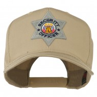 USA Security Officer Patched High Profile Cap - Khaki