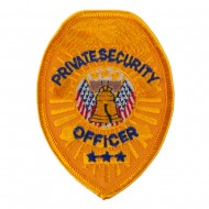USA Security and Rescue Embroidered Patch - Private Security
