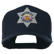 USA Security Officer Patched High Profile Cap - Navy