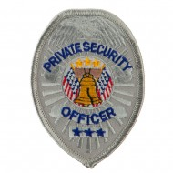 USA Security and Rescue Embroidered Patch - Private Security 2