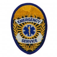 USA Security and Rescue Embroidered Patch - Emergency Service