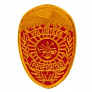 USA Security and Rescue Embroidered Patch - Firefighter