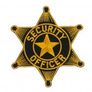 USA Security and Rescue Embroidered Patch - Security Officer 3