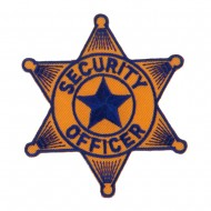 USA Security and Rescue Embroidered Patch - Security Officer 4