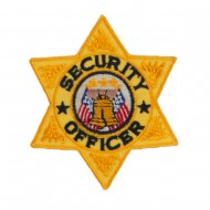 USA Security and Rescue Embroidered Patch - Security Officer 5
