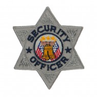 USA Security and Rescue Embroidered Patch - Security Officer 6