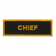 USA Security and Rescue Embroidered Patch - Chief