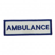 USA Security and Rescue Embroidered Patch - Ambulance