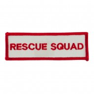 USA Security and Rescue Embroidered Patch - Rescue Squad