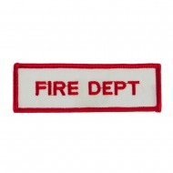 USA Security and Rescue Embroidered Patch - Fire Dept