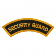 USA Security and Rescue Embroidered Patch - Security Guard