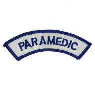 USA Security and Rescue Embroidered Patch - Paramedic