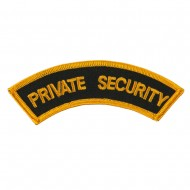 USA Security and Rescue Embroidered Patch - Private Security 3