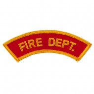 USA Security and Rescue Embroidered Patch - Fire Dept 2