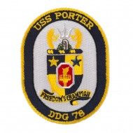 USS Twisted Rope Patches - USS Porter
