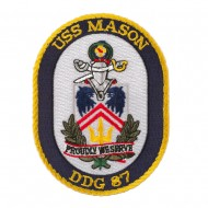USS Twisted Rope Patches - USS Mason