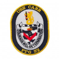USS Twisted Rope Patches - USS Carr