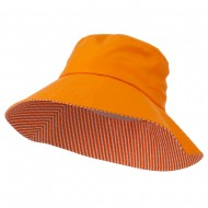 UV 50+ Ladies Sun Hat - Orange