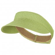 UPF 50+ Crushable Toyo Sun Visor - Lime