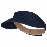 UPF 50+ Crushable Toyo Sun Visor - Navy