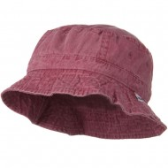 Vacational Cotton Twill Bucket Hat - Nautical Red
