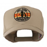 Viet Cong Hunting Club Outline Embroidered Cap - Khaki
