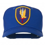 1st Aviation Army Shield Patched Cap - Royal