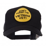 Veteran Embroidered Military Patched Mesh Cap - Don't Forget