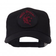 Veteran Embroidered Military Patched Mesh Cap - Wild Dreams