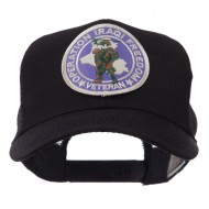 Veteran Embroidered Military Patched Mesh Cap - Iraqi Veteran