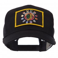 Veteran Embroidered Military Patched Mesh Cap - Vietnam Vet 3