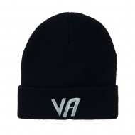 State VA Embroidered Long Beanie - Navy