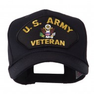 Veteran Military Large Patch Cap - US Army