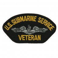Big Size Veteran Military Large Patch - Submarine Service