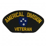 Big Size Veteran Military Large Patch - Americal Div