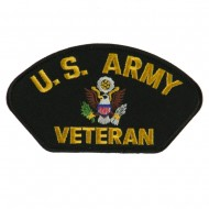 Big Size Veteran Military Large Patch - US Army