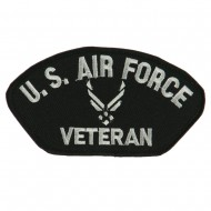 Big Size Veteran Military Large Patch - White Air