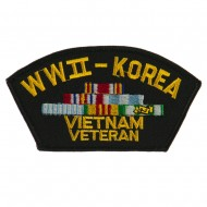 Big Size Veteran Military Large Patch - WW2 Viet