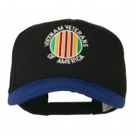 Vietnam Veteran of America Embroidered Cap - Royal Black