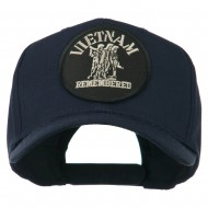 Vietnam Remembered Military Patched High Profile Cap - Navy
