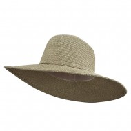 UPF 50+ Self Tie Flat Brim Hat - Green