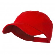 Washed Ball Cap - Red