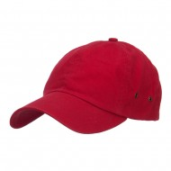 Normal Dyed Washed Caps-Red