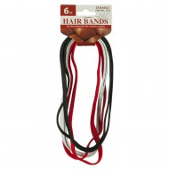 6 Pieces Wide Hair Band - Multi