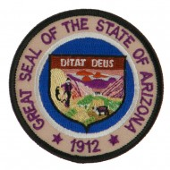 Western State Seal Embroidered Patch - Arizona