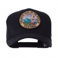 US Western State Seal Embroidered Patch Cap - California