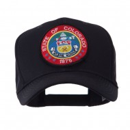 US Western State Seal Embroidered Patch Cap - Colorado