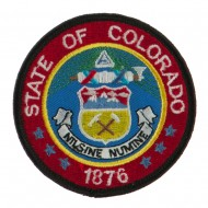 Western State Seal Embroidered Patch - Colorado